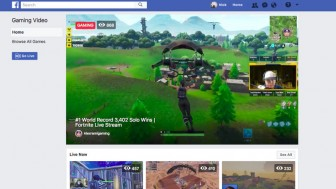 Facebook starts with its own game streaming service