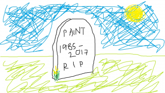 Microsoft Paint will live in the Windows Store for free